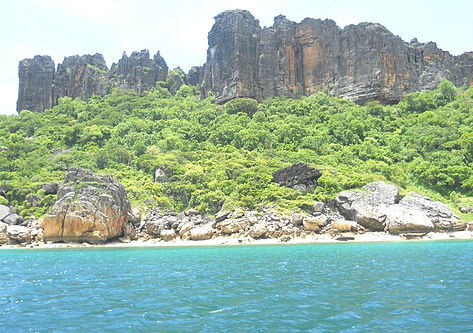 Nosy Hara: one of the Park's islets where dugongs are often sighted